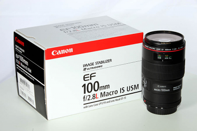 Canon EF 100mm 2,8 L IS USM Macro Objektiv
