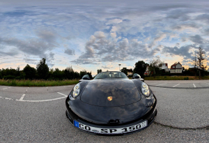 Porsche Boxter Limited Edition - Front - HDR